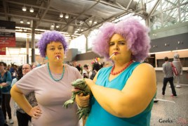 Patty and Selma - Montreal Comiccon 2017 - Photo by Geeks are Sexy