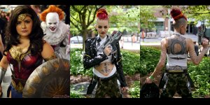 The Cosplay of Montreal Comiccon 2017 - Sunday + Other Pics!