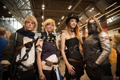 Cosplayers - Montreal Comiccon 2017 - Photo by Geeks are Sexy