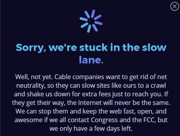 Web Giants Plan Net Neutrality Protest - Net neutrality letter template