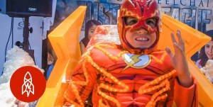 FEELS ON WHEELS: Wheelchair Costumes Turn Kids Into Superheroes