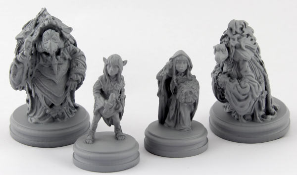 Dark Crystal Board Game Figures