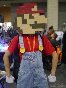 8-Bit Mario – Quebec City Comic Con 2017 – Photo by Geeks are Sexy