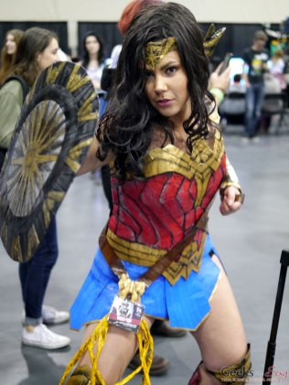 Duck Tape Wonder Woman – Quebec City Comic Con 2017 – Photo by Geeks are Sexy