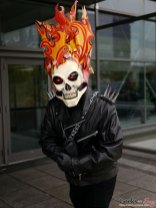 Ghost Rider – Quebec City Comic Con 2017 – Photo by Geeks are Sexy