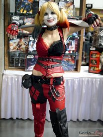 Harley Quinn – Quebec City Comic Con 2017 – Photo by Geeks are Sexy