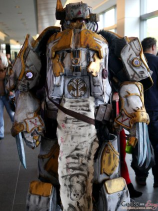 Space Marine – Quebec City Comic Con 2017 – Photo by Geeks are Sexy