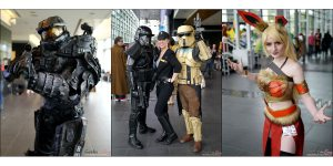 The Fabulous Cosplay of Quebec Comiccon 2017 - Part 2 [Picture Gallery]