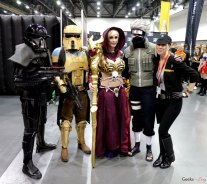 Friends – Quebec City Comic Con 2017 – Photo by Geeks are Sexy