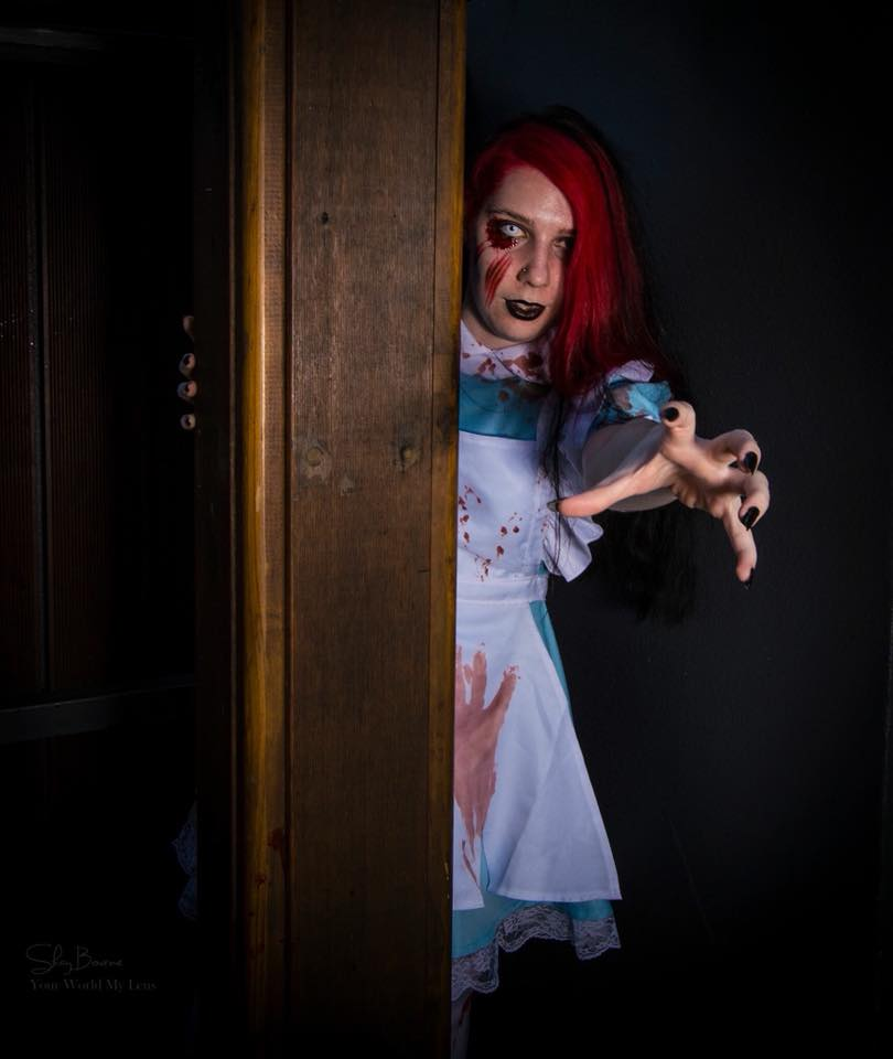 Allana as Zombie Alice