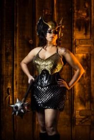 Claude's Wife as Hawkgirl