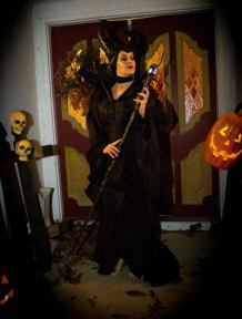 Holly K Golightly as Maleficent