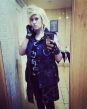 Stacy as Prompto from FF XV