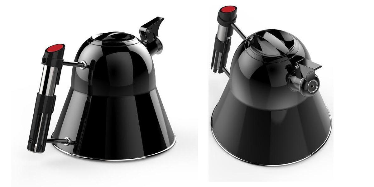 Приколы по Звездным Войнам: Британский магазин предлагает купить чайник в виде шлема Дарта Вейдера