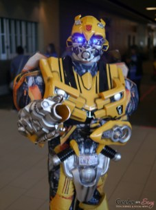 Bumblebee - Ottawa Comiccon 2018 - Photo by Geeks are Sexy