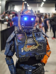 Chappie - Ottawa Comiccon 2018 - Photo by Geeks are Sexy