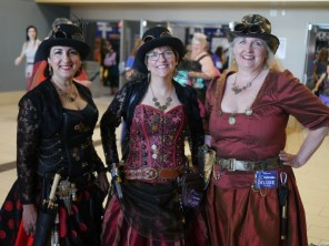 Steampunk Ladies - Ottawa Comiccon 2018 - Photo by Geeks are Sexy