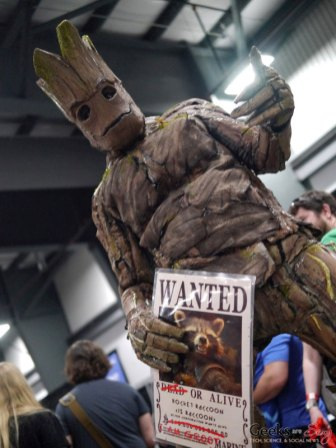 Groot - Ottawa Comiccon 2018 - Photo by Geeks are Sexy