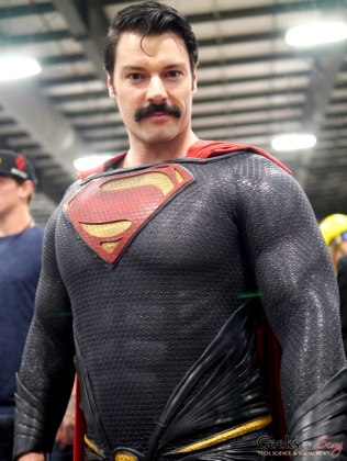 Superman's Moustache - Ottawa Comiccon 2018 - Photo by Geeks are Sexy