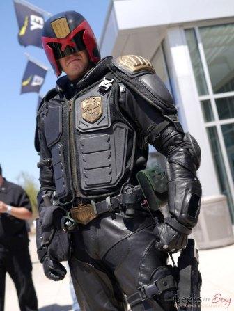 Judge Dredd - Ottawa Comiccon 2018 - Photo by Geeks are Sexy