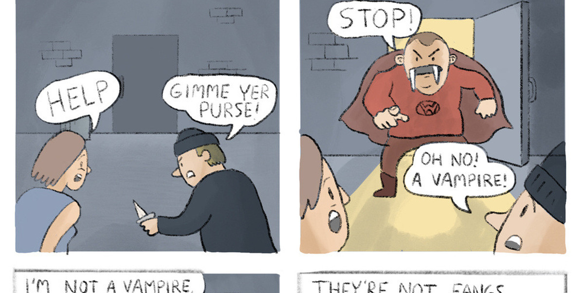 Walrus Man Comic