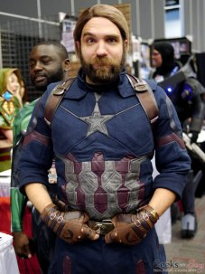 Captain America (John Torres) - Montreal Comiccon 2018 - Picture by Geeks are Sexy