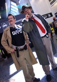 Commissioner Gordon - Montreal Comiccon 2018 - Picture by Geeks are Sexy