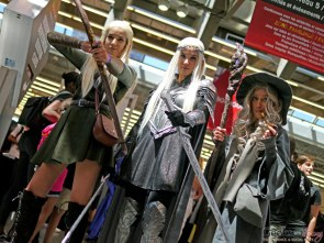 Elves and Gandalf - Montreal Comiccon 2018 - Picture by Geeks are Sexy