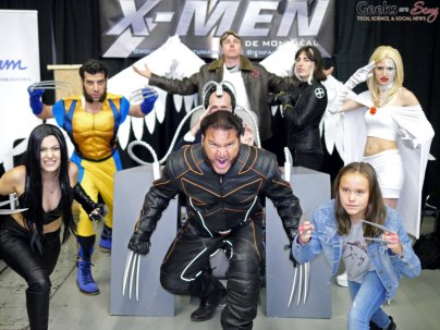 X-Men - Montreal Comiccon 2018 - Photo by Geeks are Sexy