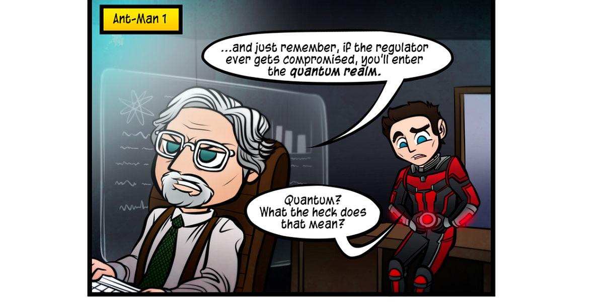 Quantum Limit Comic Minor Ant-Man 2 Spoiler Alert