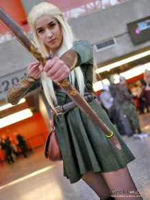 Elven Archer - Montreal Mini-Comiccon 2018 - Photo by Geeks are Sexy