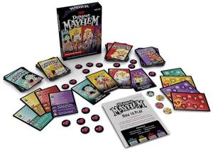 Dungeon Mayhem: A Fun Dungeons and Dragons Card Game for 2 to 4 players
