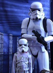 Junior Stormtrooper and Stormtrooper - Shawicon 2019