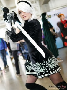 Nier Automata 2B - Geek-It 2019 - Photo by Geeks Are Sexy