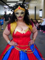 Masked Wonder Woman - Ottawa Comiccon 2019 - Photo by Geeks are Sexy