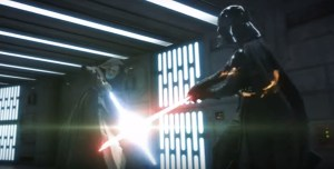 Amazing Recreation of the Obi Wan vs. Darth Vader Fight Scene from a New Hope