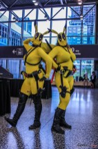 Deadpool Pikachus - Photo by Geeks are Sexy at Montreal Comiccon 2019