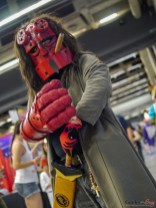 Hellboy - Photo by Geeks are Sexy at Montreal Comiccon 2019