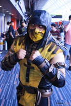Scorpion - Photo by Geeks are Sexy at Montreal Comiccon 2019