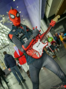 Rockstar Spider-Man - Quebec Comiccon 2019 - Photo by Geeks are Sexy