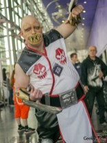 Baraka from Mortal Kombat - Quebec Comiccon 2019 - Photo by Geeks are Sexy