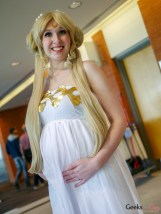 Pregnant Sailor Moon - Quebec Comiccon 2019 - Photo by Geeks are Sexy