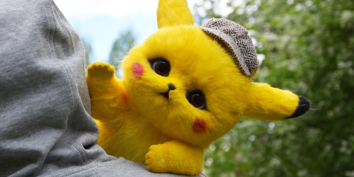 This Handmade Detective Pikachu Doll Is Fully Posable