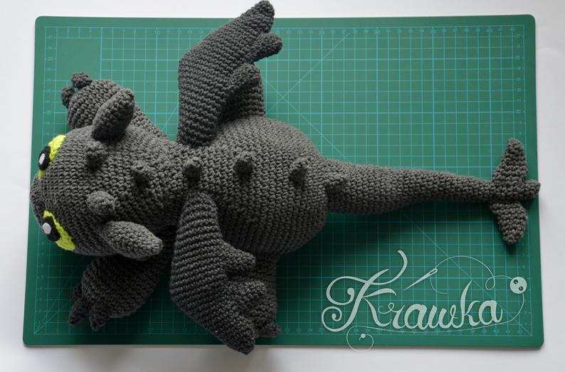 Ravelry: Small crochet dragon amigurumi, mini Drache pattern by ... | 523x794