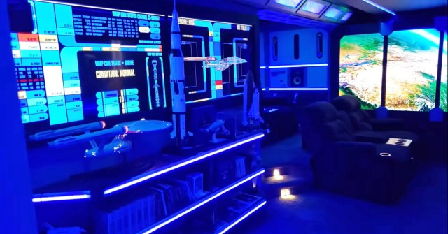 Star Trek Man Cave