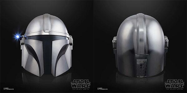 Mandalorian Black Series Helmet Replica