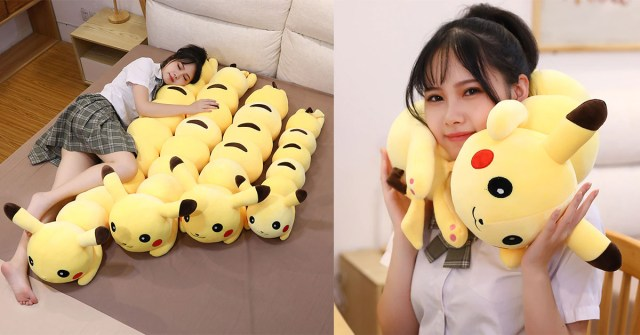 Pikachu Body Pillow