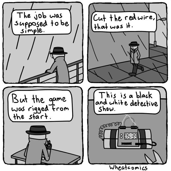 Detective Show [Comic]