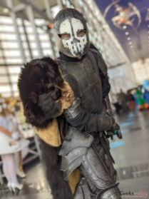 Skull Knight - Photo by Geeks are Sexy at Quebec City ComicCon 2021