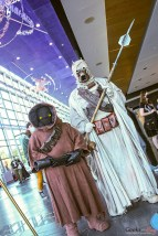 Jawa and Tusken Raider - Photo by Geeks are Sexy at Quebec City ComicCon 2021